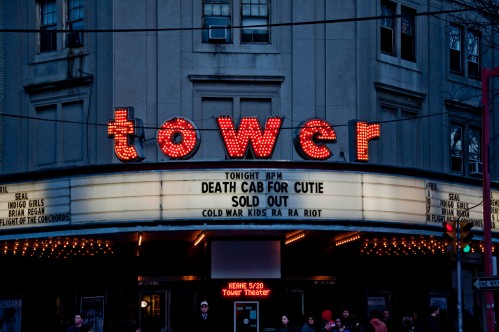 Tower Theater in Upper Darby, PA, just outside of Philadelphia - Photo by Colin Kerrigan