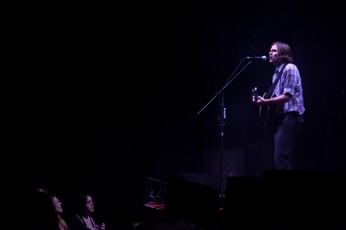"Ben Gibbard played a solo ""I Will Follow You Into Dark"" to open Death Cab For Cuties' set. Photo by Colin Kerrigan"